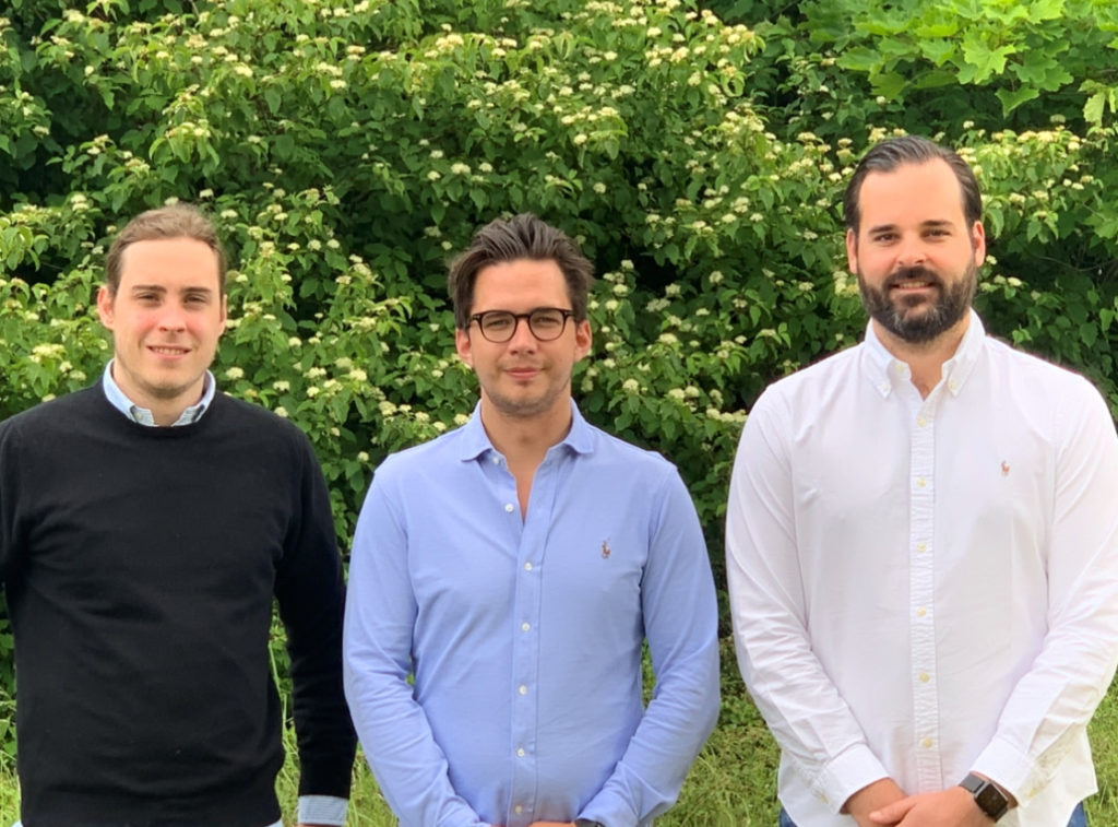 V. l.n.r.: Maurice Sevecke, Axel Clevberger, Philipp Ahrens © Airdal Retail